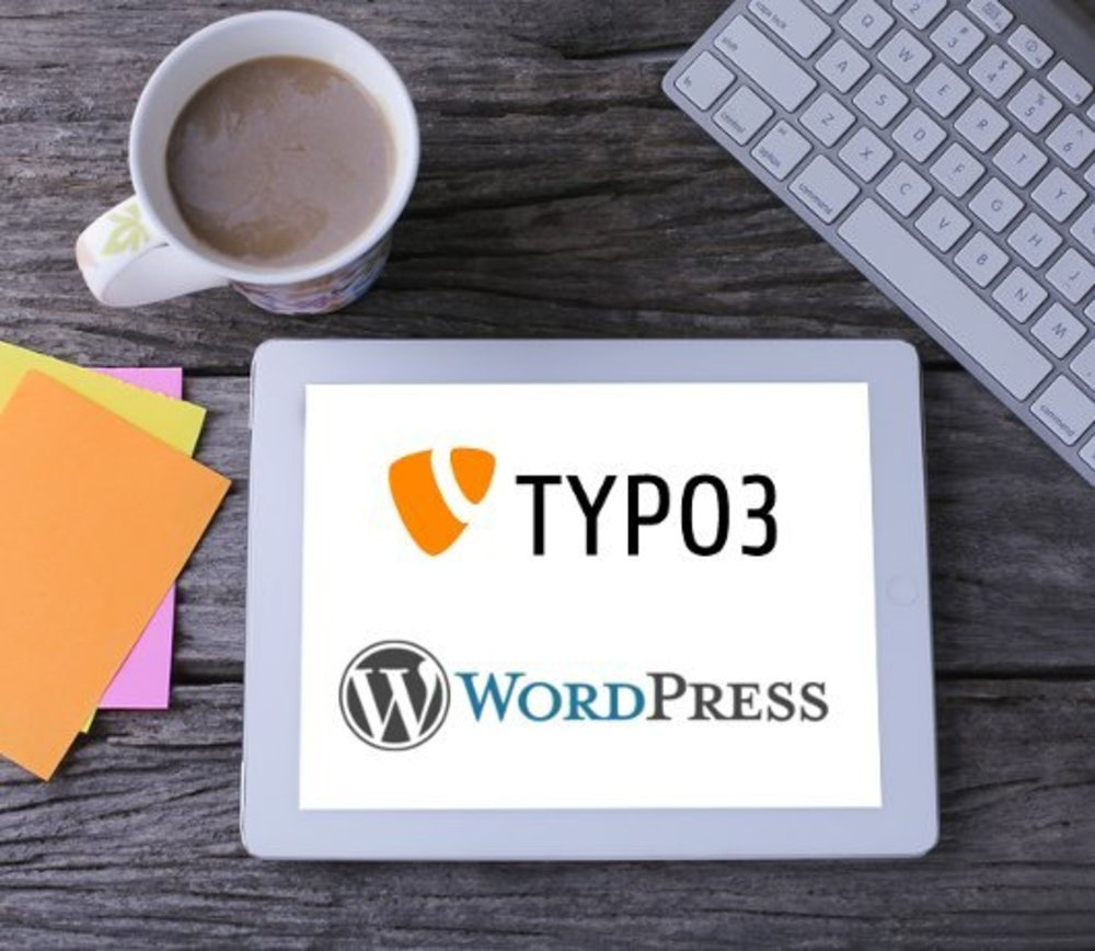CMS TYPO3 Wordpress